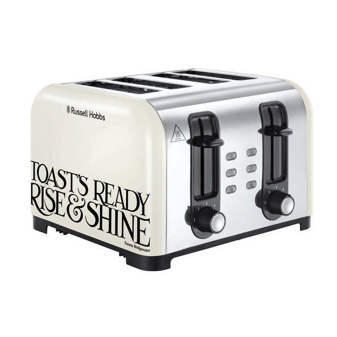 The toast and marmalade line will include appliances.