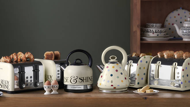 Emma Bridgewater and Russell Hobbs unveil their appliance line.