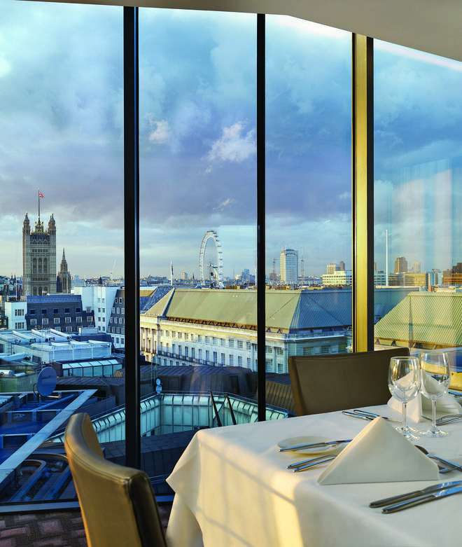 DoubleTree by Hilton in Westminster, London, has gorgeous views of the Capital