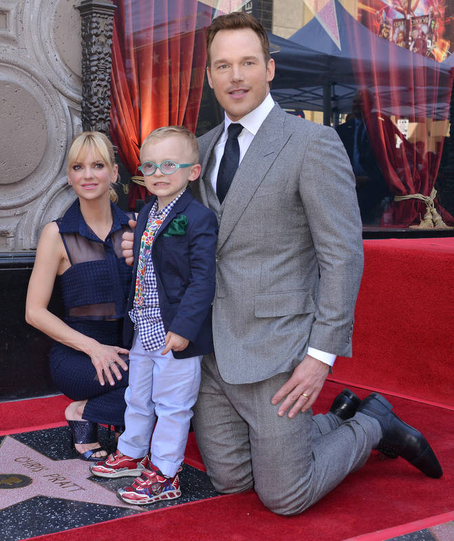 Who is Chris Pratt's ex wife Anna Faris and how many kids do they
