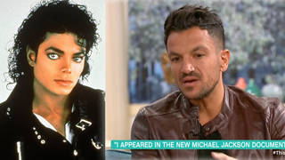 Peter Andre discussed Leaving Neverland while on This Morning earlier today