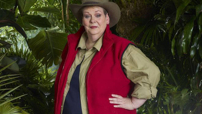Anne appeared on I'm A Celebrity last year