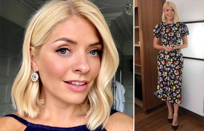 Holly Willoughby's outfit is from ASOS today