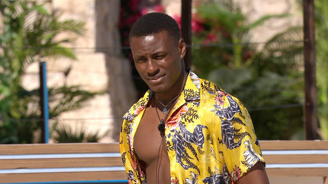 Sherif Lanre has been kicked off Love Island