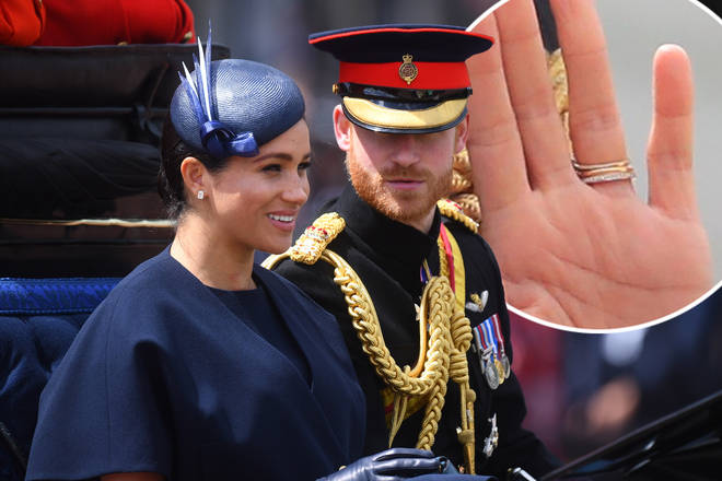 Meghan Markle's ring is rumoured to be a 'push present'
