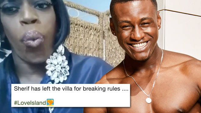 Love Island fans are reacting to Sherif Lanre's shock exit in the funniest way