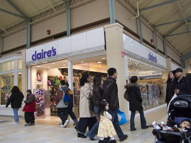 Claire's have issued a statement