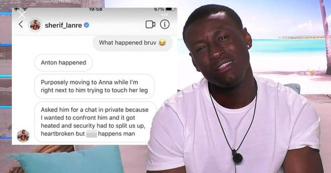 ITV have denied 'fighting' is the reason Sherif left