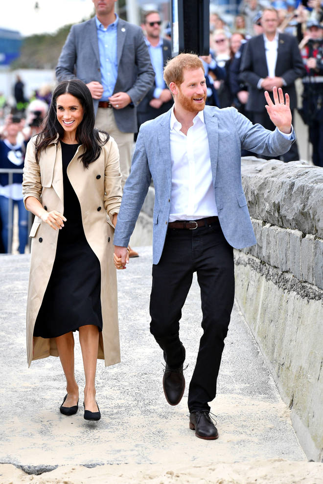 Meghan Markle wore recycled shoes