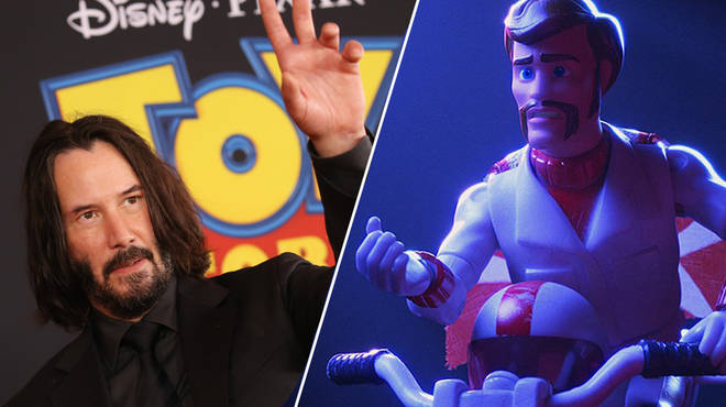 Keanu Reeves is joining the Toy Story cast for the fourth movie