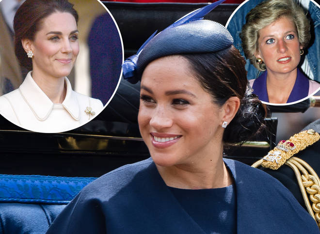 Meghan Markle is following in some royal footsteps