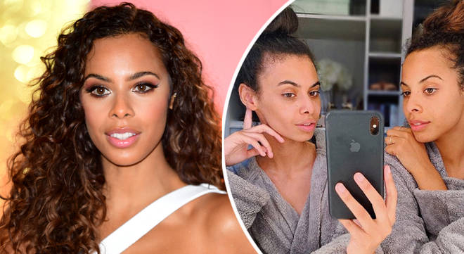 Rochelle's mirror selfie has confused fans