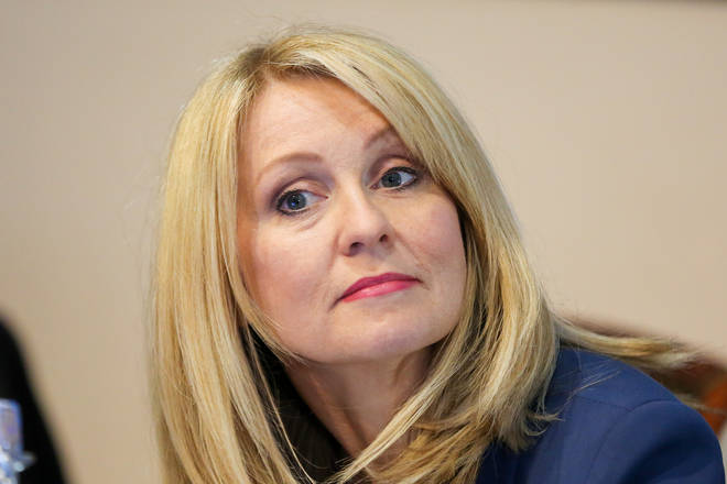 Esther McVey claimed she used to share a dressing room with Lorraine Kelly