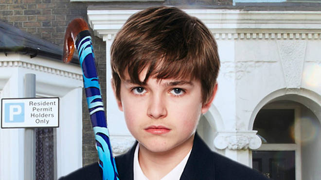 Eliot Carrington played Bobby during the Lucy Beale 'whodunnit'