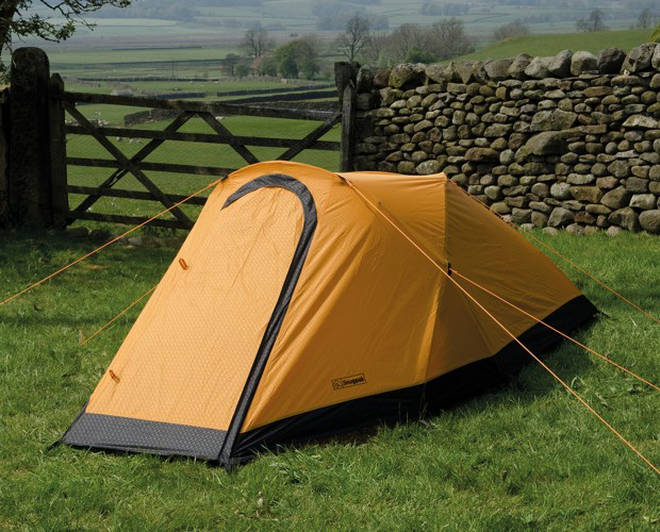 This two-person tent is extremely durable
