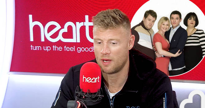 Freddie Flintoff has spilled the beans on Gavin and Stacey