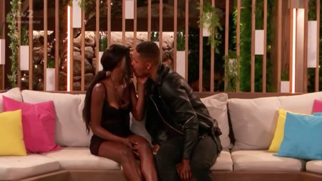 Yewande and Danny shared their first kiss