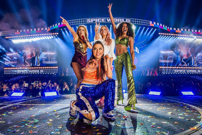 The Spice Girls tour is concluding tonight