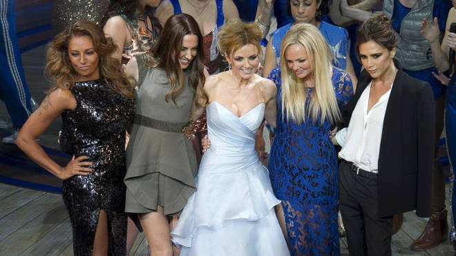 The Spice Girls last performed together as a five-girl group back in 2012 for the London Olympics (pictured in 2012)