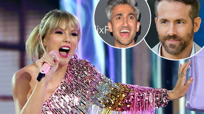 Taylor Swift's new music video is to feature Ryan Reynolds and Tan France