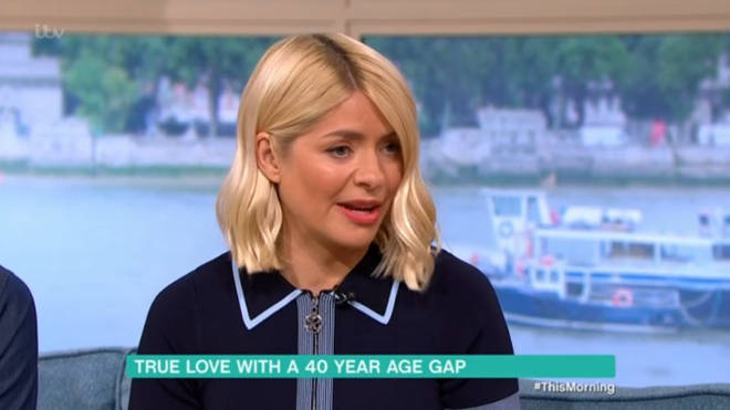 Holly Willoughby was fascinated by the story of Simon and Edna's romance