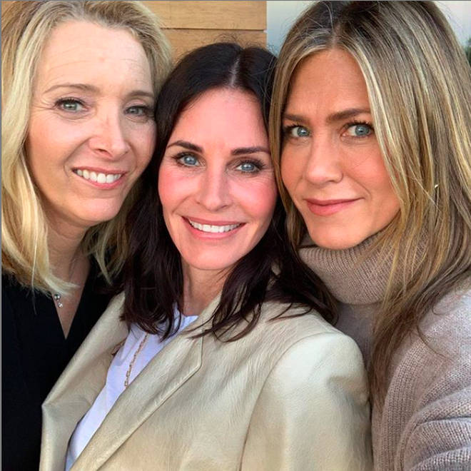 Courteney Cox celebrated her 55th birthday with former Friends co-stars