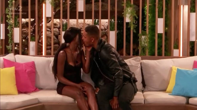 Yewande and Danny shared a steamy kiss in a recent episode