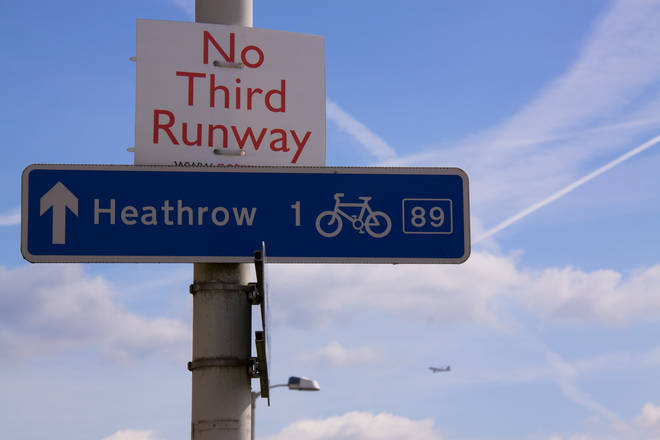 Plans to build the third runway have proved controversial
