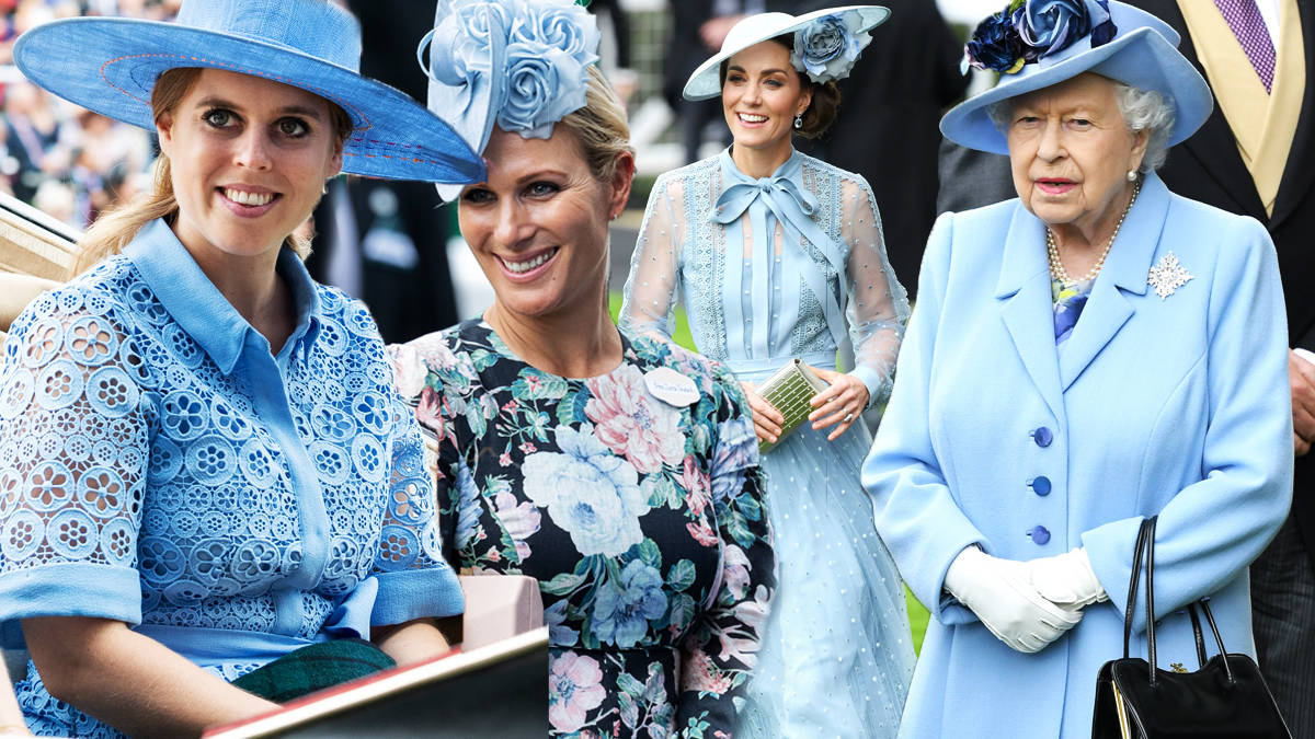 Royal Family shock as women all choose blue shades for Royal Ascot 2019
