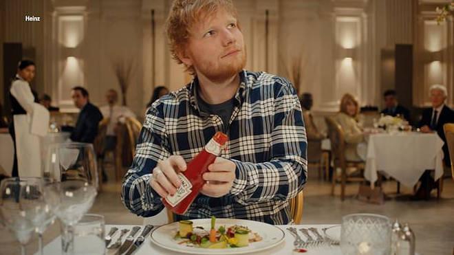 Ed Sheeran stars in the new Heinz ketchup advert
