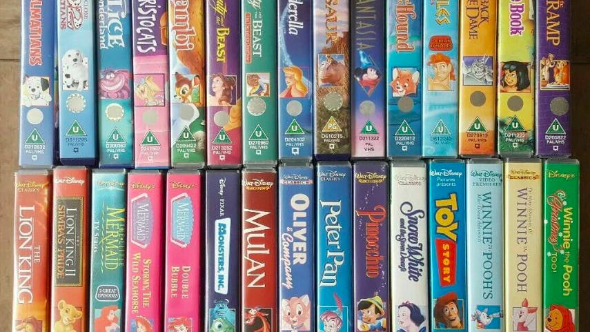 Your old Disney VHS tapes could be worth £14,000 if you flog them on eBay -  Heart
