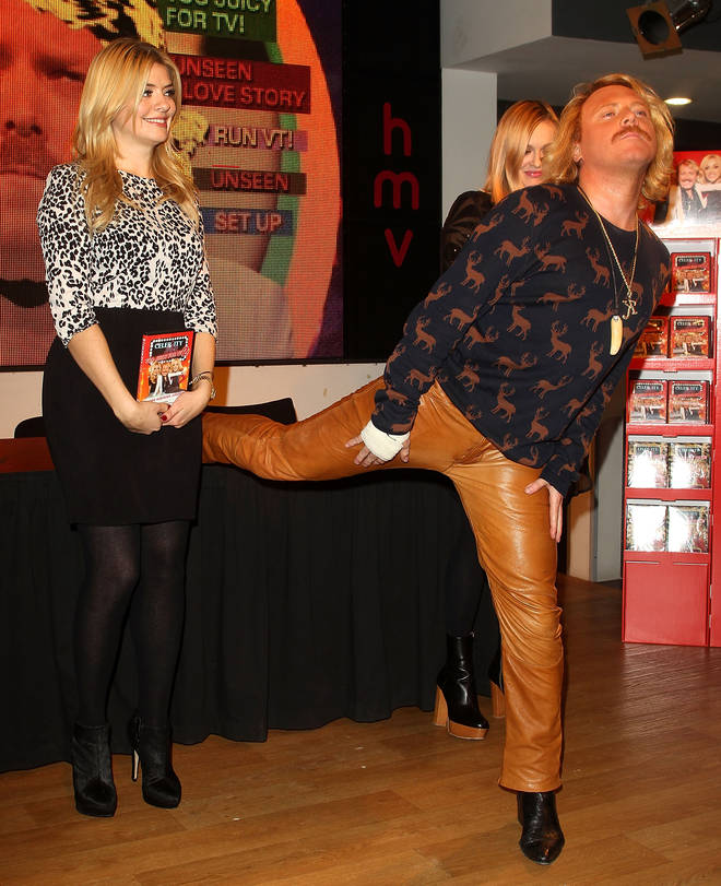 Holly Willoughby and Keith Lemon have worked together on Celebrity Juice since 2008