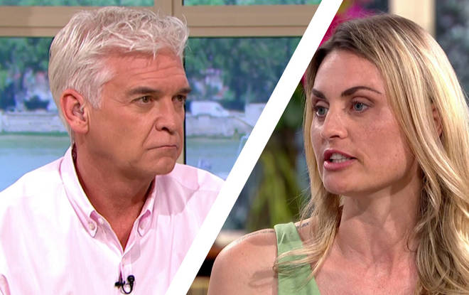 The This Morning presenter told the guest that her nose was still wonky