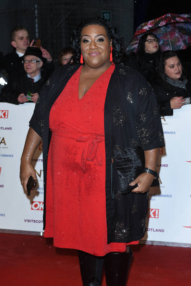 Alison Hammond attended this year's National Television Awards