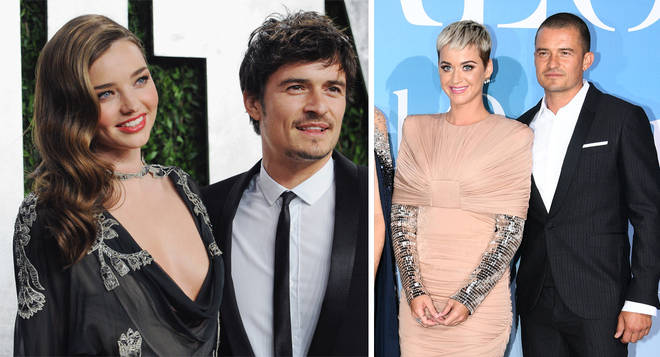 When was Miranda Kerr married to Orlando Bloom, and how many