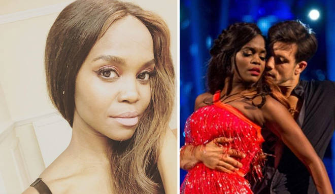 Oti Mabuse has opened up about her body insecurities