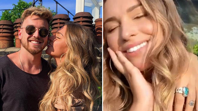 Made In Chelsea's Sam Thompson and Love Island's Zara McDermott confirm their relationship on Instagram.