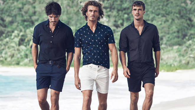 Shorts are usually reserved for the beach but in some offices you can wear them in too