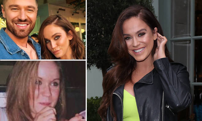 Vicky Pattison, 31, shared an old school photo of herself on social media.