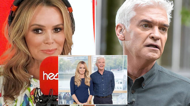 Amanda Holden tried to make amends with Phillip Schofield