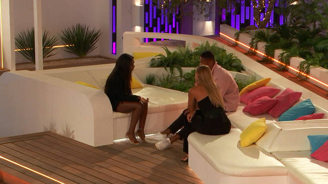 There was an intense showdown between Yewande, Danny and Arabella