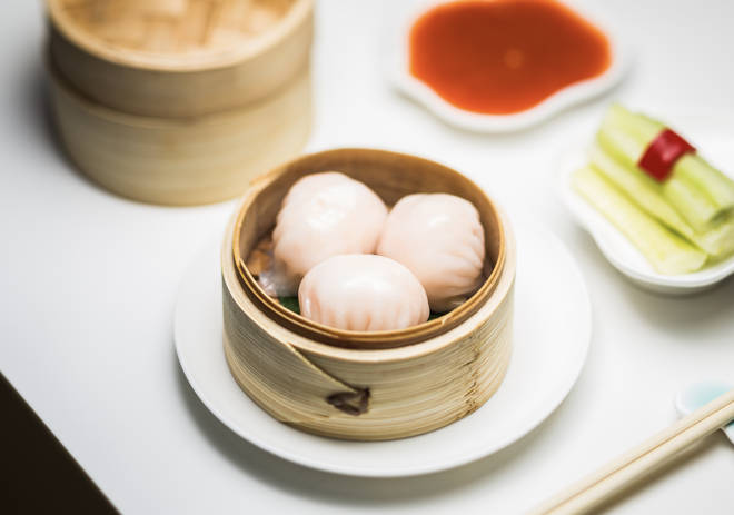 There's plenty to choose from at the asian restaurant, with dim sum galore