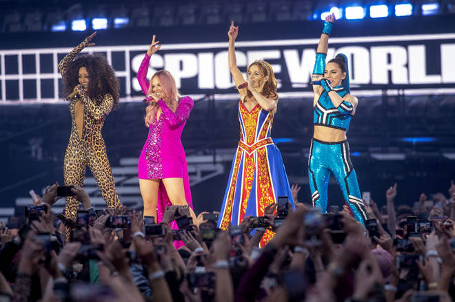 Jess Glynne supported the Spice Girls on their UK tour