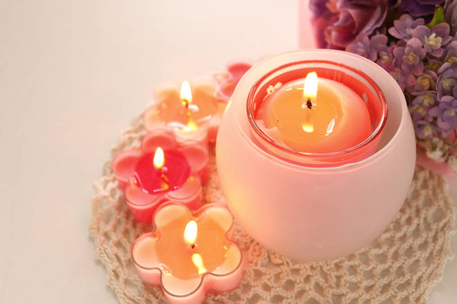 A scented candle, incense, or room scenter can help you relax in to new surroundings