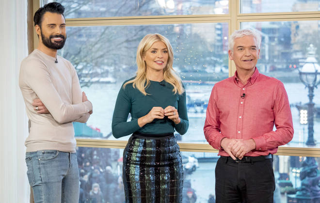 Rylan on This Morning with Holly Willoughby and Phillip Schofield
