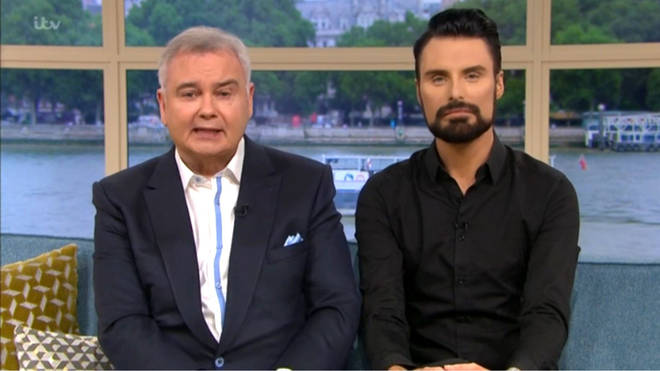 Rylan joined Eamonn Holmes on the show last Friday as Ruth spent time with her family