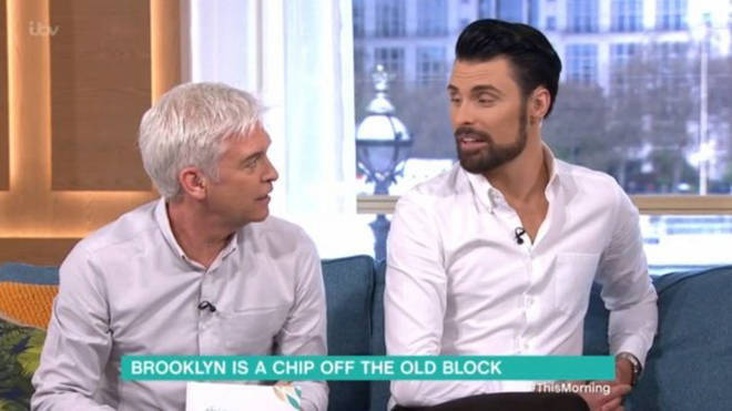 Rylan and Phillip Schofield presented the show back in March 2019