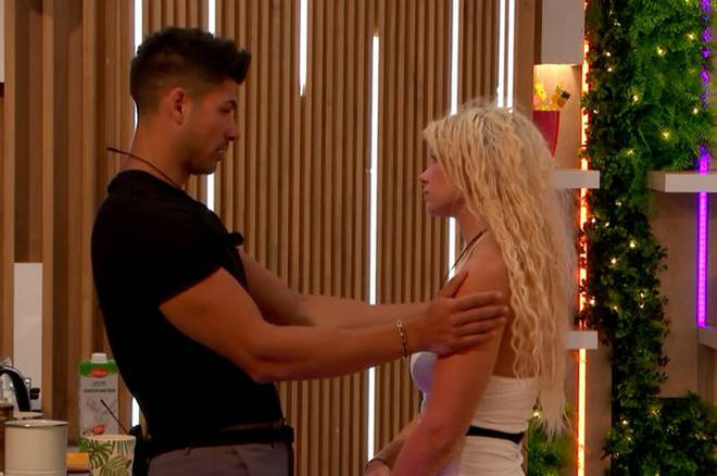 Anton and Lucie are coupled up as friends on Love Island