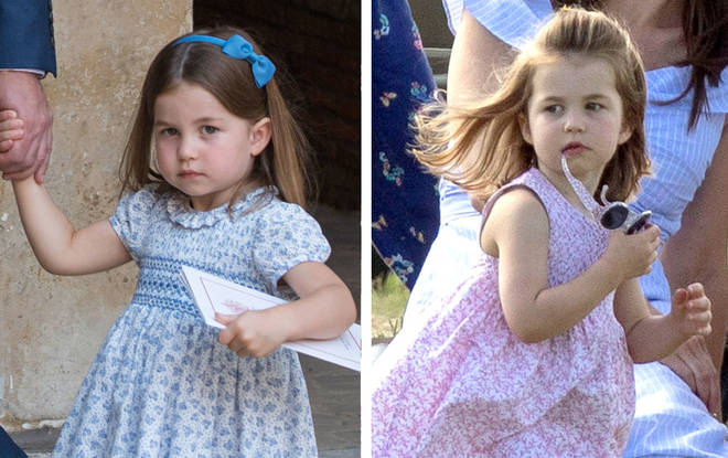 Princess Charlotte of Cambridge has a lookalike... but do you see the similarity?
