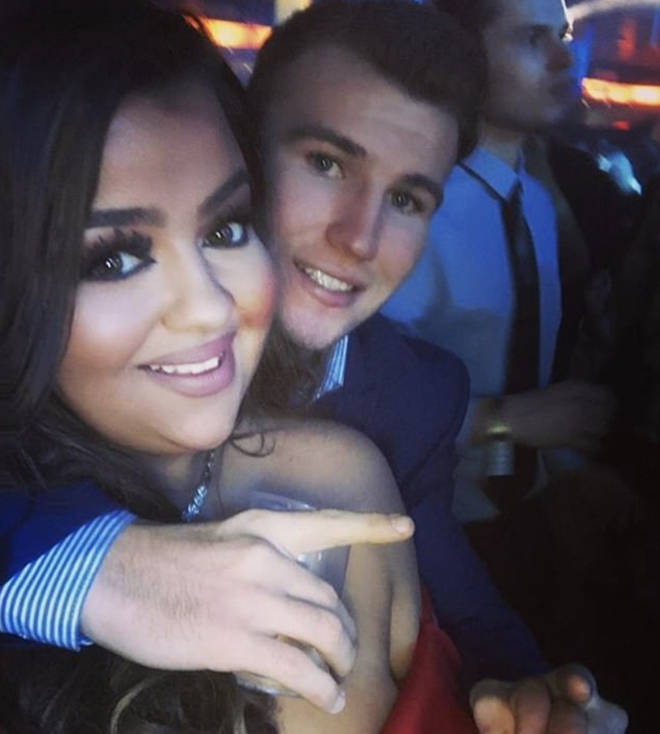 The X factor star and long-term beau Nathan are engaged to be married later this year